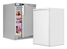 Undercounter Solid Door Freezers