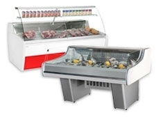 Fresh Meat and Fresh Fish Displays
