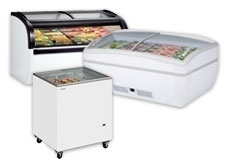 Glass Lid Chest Freezers