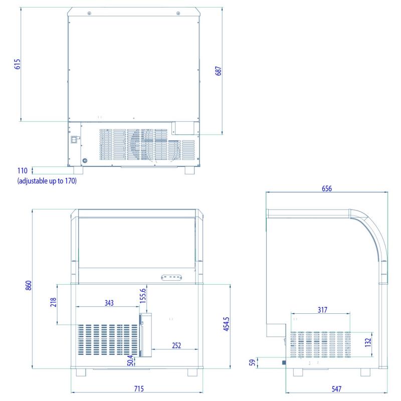 Interlevin Aquarius Range | Interlevin Refrigeration Ltd